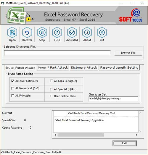 Free Excel Password Remover